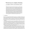 Lazy Adaptive Multicriteria Planning