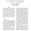 LBF: A Performance Metric for Program Reorganization