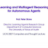 Learning and Multiagent Reasoning for Autonomous Agents