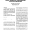 Learning basic navigation for personal satellite assistant using neuroevolution