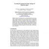 Learning by geometrical shape changes of dendritic spines