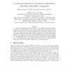 Learning Factorizations in Estimation of Distribution Algorithms Using Affinity Propagation