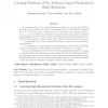 Learning Functions of Few Arbitrary Linear Parameters in High Dimensions