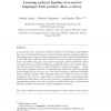 Learning indexed families of recursive languages from positive data: A survey