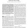 Learning Relational Descriptions of Differentially Expressed Gene Groups