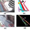 Learning Semantic Scene Models by Object Classification and Trajectory Clustering