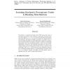 Learning Stochastic Perceptrons Under k-Blocking Distributions