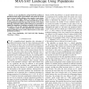 Learning the Large-Scale Structure of the MAX-SAT Landscape Using Populations
