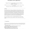 Least committed basic belief density induced by a multivariate Gaussian: Formulation with applications