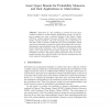 Least Upper Bounds for Probability Measures and Their Applications to Abstractions