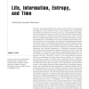 Life, information, entropy, and time: Vehicles for semantic inheritance