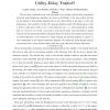 LIFO-Backpressure achieves near optimal utility-delay tradeoff