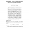 Lifting Integer Variables in Minimal Inequalities Corresponding to Lattice-Free Triangles