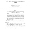 Lifting solutions of quasilinear convection-dominated problems