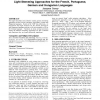 Light stemming approaches for the French, Portuguese, German and Hungarian languages