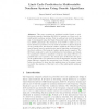 Limit Cycle Prediction in Multivariable Nonlinear Systems Using Genetic Algorithms