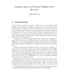 Linear sets in finite projective spaces