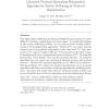 Linearized proximal alternating minimization algorithm for motion deblurring by nonlocal regularization