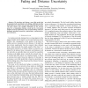 Link modeling with joint fading and distance uncertainty
