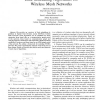 Link Scheduling Algorithms for Wireless Mesh Networks