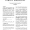 Linking multimedia presentations with their symbolic source documents: algorithm and applications