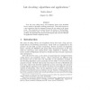 List Decoding: Algorithms and Applications