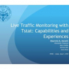 Live Traffic Monitoring with Tstat: Capabilities and Experiences