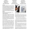 Living interfaces: the intimate door lock