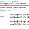 Local Approximation Algorithms for Scheduling Problems in Sensor Networks