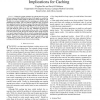 Locality in Search Engine Queries and Its Implications for Caching