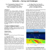 Localization in underwater sensor networks: survey and challenges