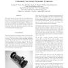 Localization of Miniature Mobile Robots using Constant Curvature Dynamic Contours
