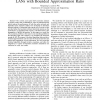 Localized Access Point Association in Wireless LANs with Bounded Approximation Ratio