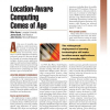 Location-Aware Computing Comes of Age