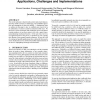 Location-based trust for mobile user-generated content: applications, challenges and implementations