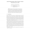 Logical Interpretation: Static Program Analysis Using Theorem Proving