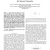 Look-ahead Geographic Routing for Sensor Networks