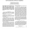 Low-complexity adaptive algorithms for pre-distortion of power amplifiers