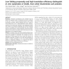 Low folding propensity and high translation efficiency distinguish in vivo substrates of GroEL from other Escherichia coli prote