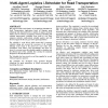 Magenta technology multi-agent logistics i-Scheduler for road transportation