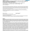 MAID : An effect size based model for microarray data integration across laboratories and platforms