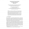 Maintaining Formal Models of Living Guidelines Efficiently