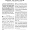 Making use of population information in evolutionary artificial neural networks