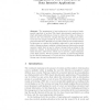 Management of User Preferences in Data Intensive Applications