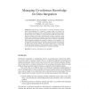 Managing Co-reference Knowledge for Data Integration