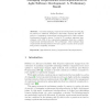 Managing Requirements Interdependencies in Agile Software Development: A Preliminary Result