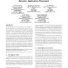 Managing SLAs of heterogeneous workloads using dynamic application placement