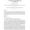 Manipulating Multistage Interconnection Networks Using Fundamental Arrangements