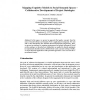 Mapping Cognitive Models to Social Semantic Spaces - Collaborative Development of Project Ontologies