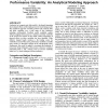 Mapping statistical process variations toward circuit performance variability: an analytical modeling approach